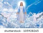 Mary On Heaven