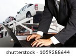 bussiness man working in office ... | Shutterstock . vector #1059288644