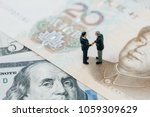 us and china financial tariff... | Shutterstock . vector #1059309629