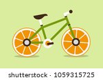 bicycle with wheel from an...   Shutterstock .eps vector #1059315725