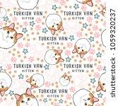 turkish van   cat breed... | Shutterstock .eps vector #1059320237