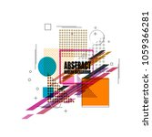 new style color modern abstract ...   Shutterstock .eps vector #1059366281