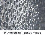shiny metal silver foil texture ...   Shutterstock . vector #1059374891