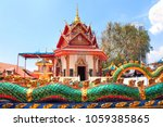 pavilion in pulau tikus  thai... | Shutterstock . vector #1059385865