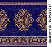ornamental seamless pattern in...   Shutterstock .eps vector #1059388919