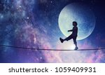 it is sweet night dream. mixed... | Shutterstock . vector #1059409931