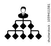 businessman icon. corporate... | Shutterstock .eps vector #1059411581