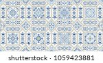 vintage seamless pattern in... | Shutterstock .eps vector #1059423881