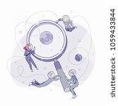 developers doing research...   Shutterstock .eps vector #1059433844