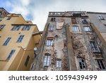 bastia  city on the island of... | Shutterstock . vector #1059439499