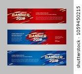 vector design banner web... | Shutterstock .eps vector #1059450215