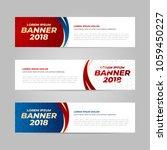 vector design banner web... | Shutterstock .eps vector #1059450227