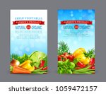 vector set of two vertical... | Shutterstock .eps vector #1059472157