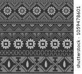seamless native pattern... | Shutterstock . vector #1059478601
