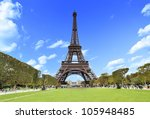 The Eiffel Tower In Paris ...