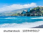 view of coast and sea in puerto ... | Shutterstock . vector #1059495017