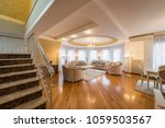 interior of a luxury  open plan ... | Shutterstock . vector #1059503567