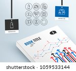 set of information  person and... | Shutterstock .eps vector #1059533144