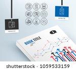set of phone communication ... | Shutterstock .eps vector #1059533159