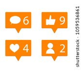 counter in social networks. app ...