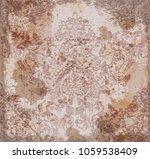 vector damask pattern element.... | Shutterstock .eps vector #1059538409