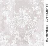 vector damask pattern element.... | Shutterstock .eps vector #1059538469