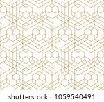 pattern with crossing thin... | Shutterstock .eps vector #1059540491