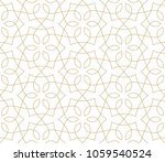 seamless linear pattern with... | Shutterstock .eps vector #1059540524