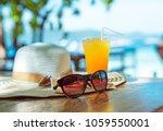 summer holiday vacation... | Shutterstock . vector #1059550001