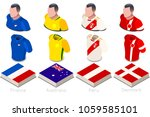 russia 2018 soccer world cup... | Shutterstock .eps vector #1059585101