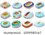russia world cup 2018 stadium.... | Shutterstock .eps vector #1059585167