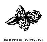 hop emblem icon label logo.... | Shutterstock .eps vector #1059587504