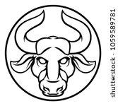 astrology zodiac signs circular ...   Shutterstock .eps vector #1059589781