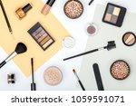 set of professional decorative...   Shutterstock . vector #1059591071