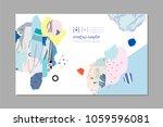 creative art header with... | Shutterstock .eps vector #1059596081
