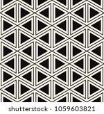 vector seamless pattern. modern ... | Shutterstock .eps vector #1059603821