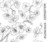 seamless pattern  background... | Shutterstock .eps vector #1059607499