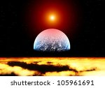 planet | Shutterstock . vector #105961691