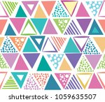 abstract seamless pattern.... | Shutterstock .eps vector #1059635507