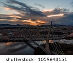 sunset shot of the famous ponte ... | Shutterstock . vector #1059643151