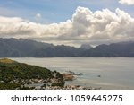 view of coron town and the...   Shutterstock . vector #1059645275