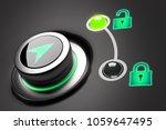 open and close data access... | Shutterstock . vector #1059647495