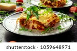 Homemade Lasagna With Minced...
