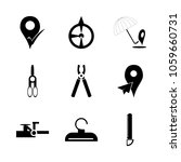 icon instruments and tools with ... | Shutterstock .eps vector #1059660731
