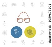 pack icons set with print ...