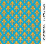 Royal Heraldic Lilies  Fleur D...