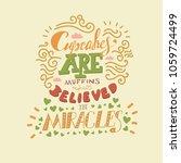 funny hand drawn vector... | Shutterstock .eps vector #1059724499