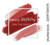 light red burgundy pastel... | Shutterstock .eps vector #1059734474