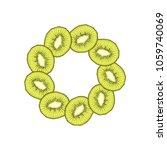vector illustration of round...   Shutterstock .eps vector #1059740069