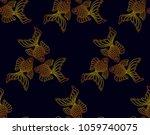 vector seamless pattern from... | Shutterstock .eps vector #1059740075
